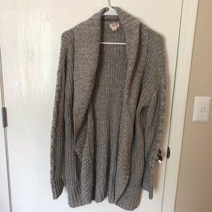Mossimo Grey Knit Sweater